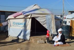 Obóz dla uchodźców, Sharia, Irak