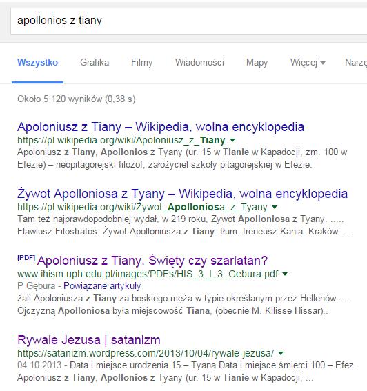 Apollonios z Google