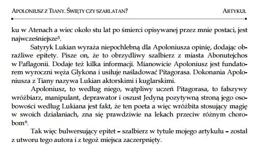 Z dziejów erudycji: Apollonios z... Abonutejchos?