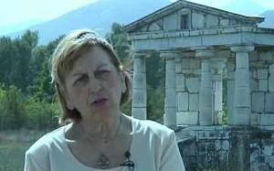 Lina Souvaltzi, której nazwisko ciągle przekręcam. Autorka jednego z największych archeologicznych skandali lat 90'XX w.