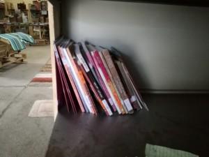 Trochę książek po arabsku.